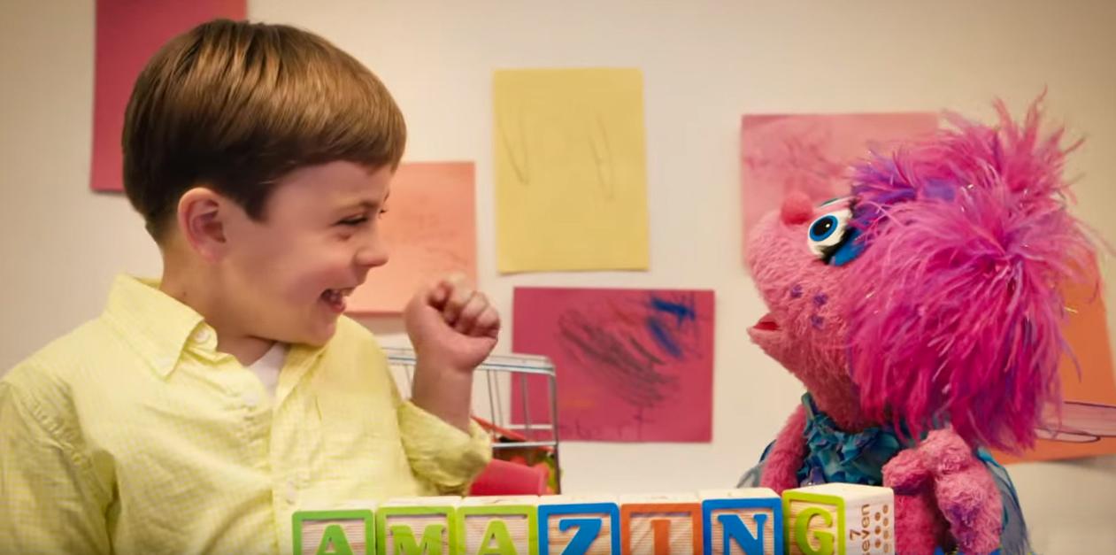 Arriva Julia il Muppet con autismo
