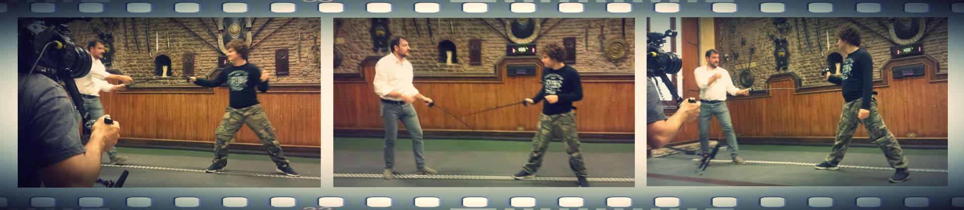 L'ultimo ciak per #tommyeglialtrifilm è con la spada in…
