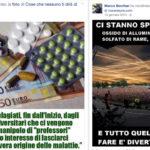Complotti e scie chimiche sul Facebook del padre del bimbo…