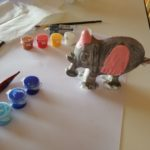 Elefante in colorazione