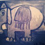 elefante trasparente